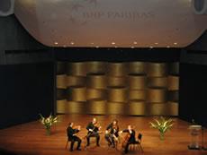 The Quatuor Ysaye concert at the Museum of Tel Aviv