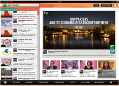 Eco News iPad App