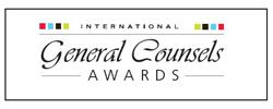 General Counsels Awards' logo