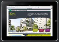 Landing Page BNP Paribas Immobilier
