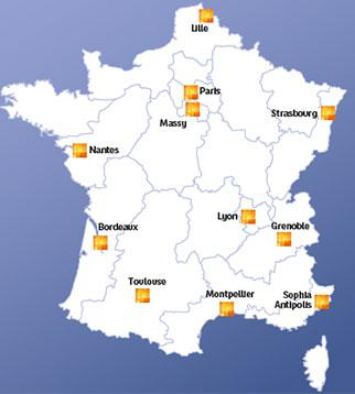 Innovation Centres in France