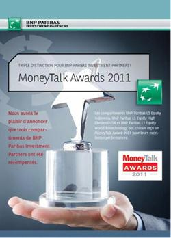Money Talk Fund Awards 2011 logo