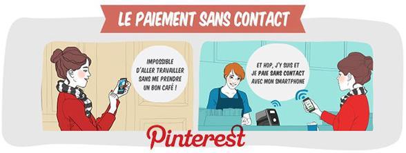 Le paiement sans contact par BNP Paribas sur Pinterest