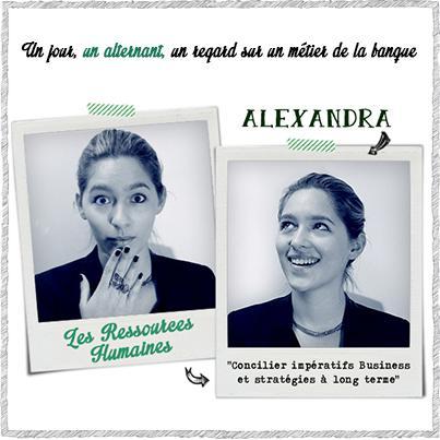Alexandra, une alternante