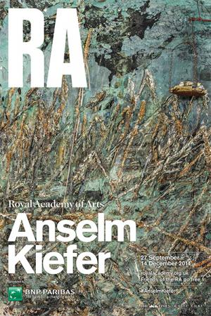 Anselm Kiefer exhibition at the Royal Academy of Arts in London