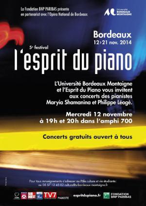 L'esprit du Piano - Bordeaux