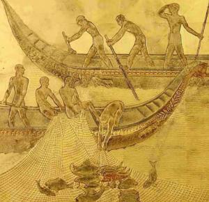 La Pêche - Jean Dunand