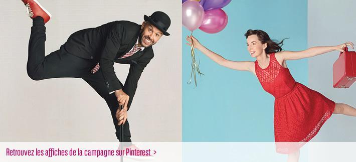 Retrouvez les visuels de la campagne 30 ans Fondation BNP Paribas sur Pinterest !