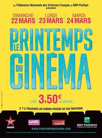Printemps du Cinéma 2015