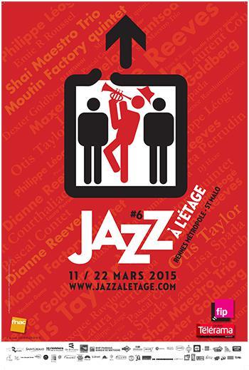 Jazz a l'étage -affiche