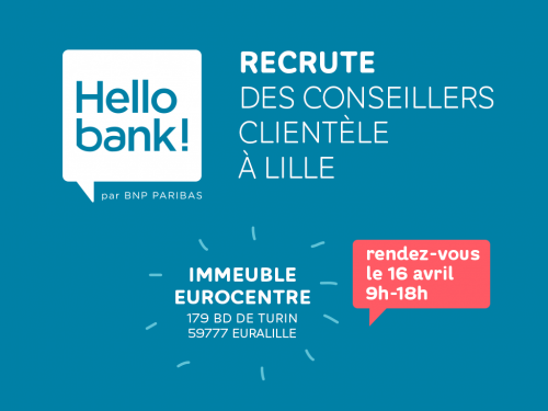 Hello bank! recrute à Lille