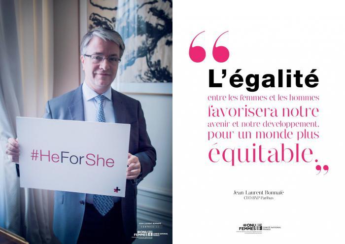 Jean-Laurent Bonnafé pour HeForShe