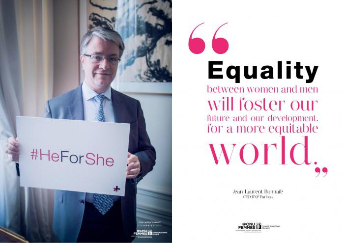 Jean-Laurent Bonnafé for HeForShe